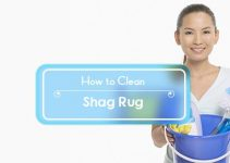 how to clean a shag rug