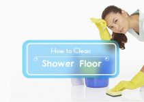 how to clean shower floor