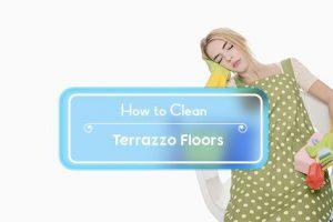 how to clean terrazzo floors